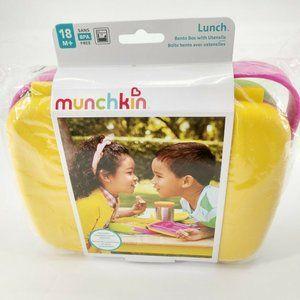 Munchkin Bento Toddler Lunch Box Yellow